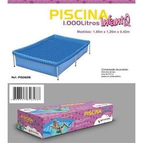 Piscina Estruturada - 1.000 Litros - Botafogo