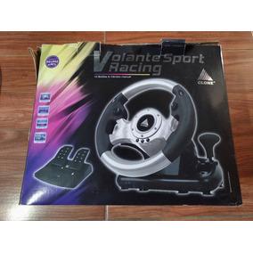 Volante Sporting Racer - Clone - Ps1, Ps2 E Pc
