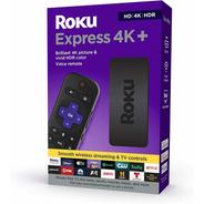 Roku Express 4k+ 2021 Media Streaming Control Remoto De Voz