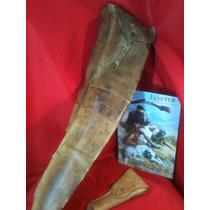 Funda Antigua De Rifle Winchester- Pistola-anuncio-vintage