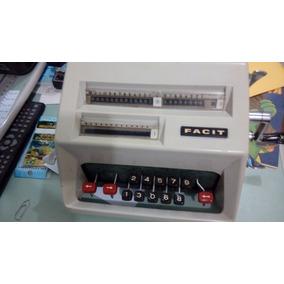 Calculadora Facit Antiga Modelo C I - 13 - Funcional