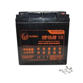 Bateria Selada 12v 28ah + Bateria Selada 12v 7ah
