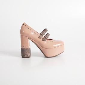 Zapato Con Plataforma. Art Tania. Otro Calzado