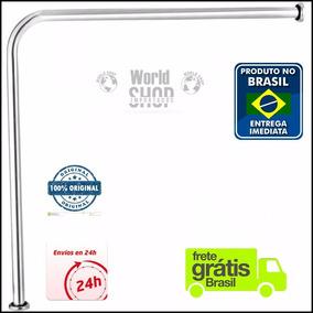 Barra Ou Alça Corrimão Apoio L 70x70 Aluminio Vaso Sanitario