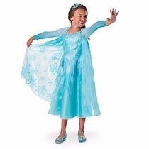 Disfraz Vestido Princesa Frozen Elsa Deluxe Disney Store Usa