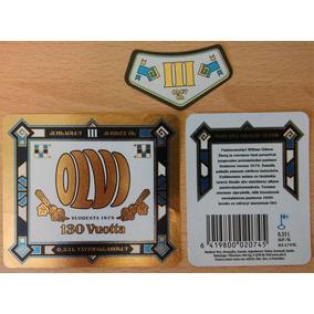 Etiqueta Cerveza Olvi 130 Vuotta - Finlandia (nueva)