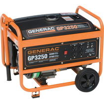 Generador De Gasolina Generac Gp3250 3750 Watts Max 110v