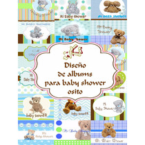 Diseño De Álbum Para Baby Shower Ositos