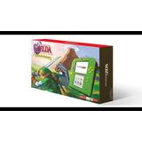Nintendo 2ds Edicion Zelda Ocarina Nueva