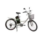Bicicleta City Pas Aro 24 Eletrica 350w - Track Bikes