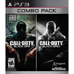 Kit Videojuego Call Of Duty Bo 1 & 2 Playstation Activision