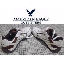Zapato Tenis Casual Piel American Eagle Talla 7.5