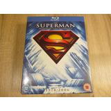Blu-ray Colección Superman 8 Discos Nueva-sellada-detalle