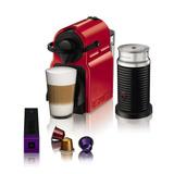 Cafetera Nespresso Inissia Roja + Aeroccino A3c40-ar-re-ne