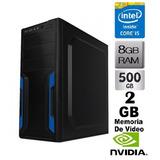 Cpu Core I5 / 8gb / 500gb / 2gb T Video Nvidia