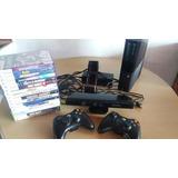 Xbox 360 4 Gb + Kinect + 2 Controles + Baterias + 16 Juegos