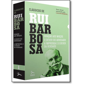 Livro - Box Clssicos De Rui Barbosa: Orao Aos Moos, O Dever