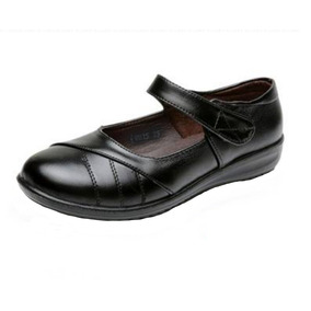 Zapato Cuero Negro Lola Mujer Colegio