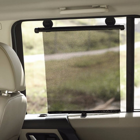 Cortina Janela Carro Parasol Retratil Protetor Vidro Com 2