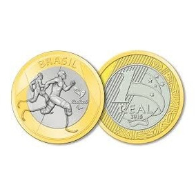 Moedas Olimpíadas Avulsas - Frete R$ 8,00
