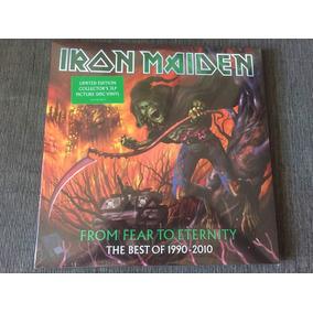 Iron Maiden From Fear To Eternity Lp Vinil Triplo Pictu Novo