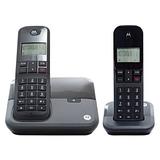 Telefone Sem Fio Motorola Moto3000 Mrd2 Preto Id.chamada