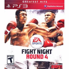 Juego Ps3 Fight Night Round 4 Físico Original Sellado