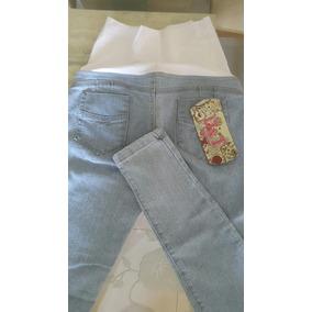 Pantalon Materno Jeans Strech. Para Embarazadas