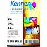 Papel Fotográfico Premium Kennen 200 Grs A3+ 20 Hojas