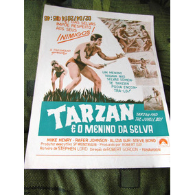 Sinopse Tarzan E Menino Da Selva Mike Henry Jungle Boy M