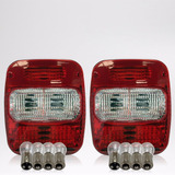 Lanterna Traseira Volkswagem Ford Cargo Troller + Lampadas
