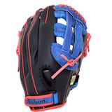 Manopla Beisbol A360 Tamaño 11.5 Azul/negro Wilson