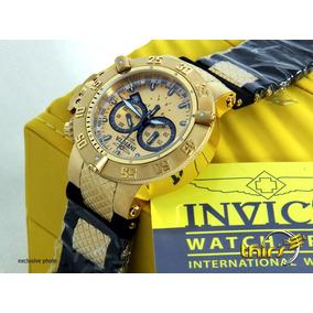 5b8dda0ae14 Camafeu De Ouro 18 Kts Masculino Invicta - Relógio Masculino no ...