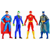 Coleccion Dc Comics Mattel 30cm Flash Robin Superman Arrow
