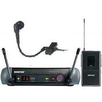 Transmissor Shure Para Sax Pgx14 Com Mic 98 Whc