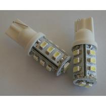 Kit 2 Lampada Led Automotiva Pingo 14 Leds Cor Branco