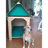 Casas Para Perros, Fabricadas En Madera, Tamaño S