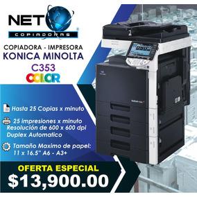 Copiadora Impresora Konica Minolta Bizhub C353