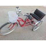 Triciclo Adulto R26 7 Velocidades Marca Rinocletas