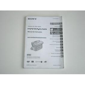 Manual Camera Video Digital Dcr-dvd92-203-403 Handycam Usado