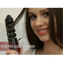 Escova Modeladora Mondial Compacta Cachos Lindos E Perfeitos