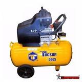 Compresor De Aire Tucson Tools 2 Hp De 24 Litros - Nuevo