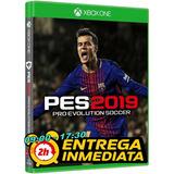 Pes 2019 Pro Evolution Soccer Xbox One Original Offline