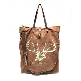 Tote Bag Alce Chocolate
