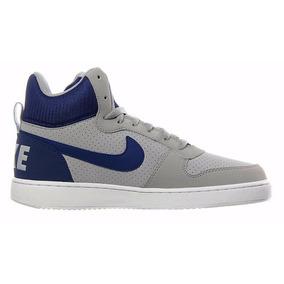 Botas Nike Court Borough Mid Matte/ Silver Originales