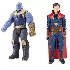 Boneco Thanos E Dr Estranho Guerra Infinita Hasbro