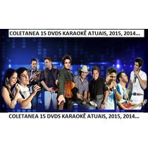16 Cd Dvds Karaokê 999 Musicas Pop Rock,sertanejo Mpb, 2015