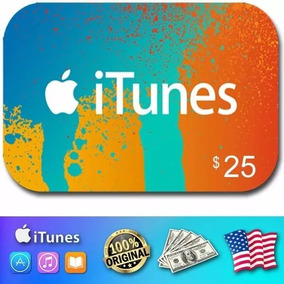 Apple Giftcard Usa 25 Dolares Itunes Apple Store Iphone Ipad