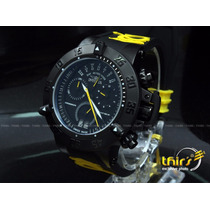 Invicta Subaqua 10185 Yelow Dragon Retrogade Date Original