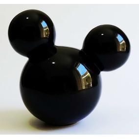 Kit 7 Cabeças Com Orelhas Mickey E Minnie Em Cerâmica M 21cm